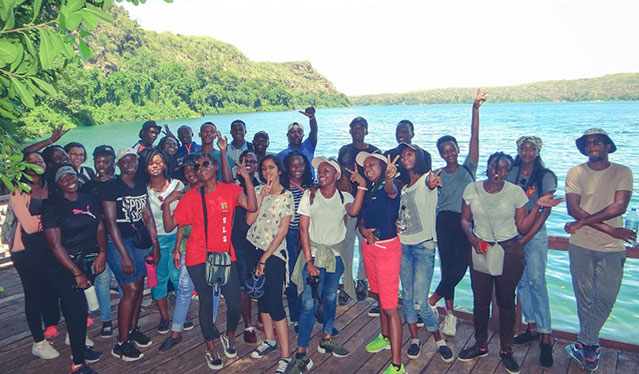School of Tourism and Hospitality students' inaugural academic trip to Arusha